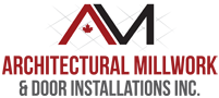 architectural millwork door installation