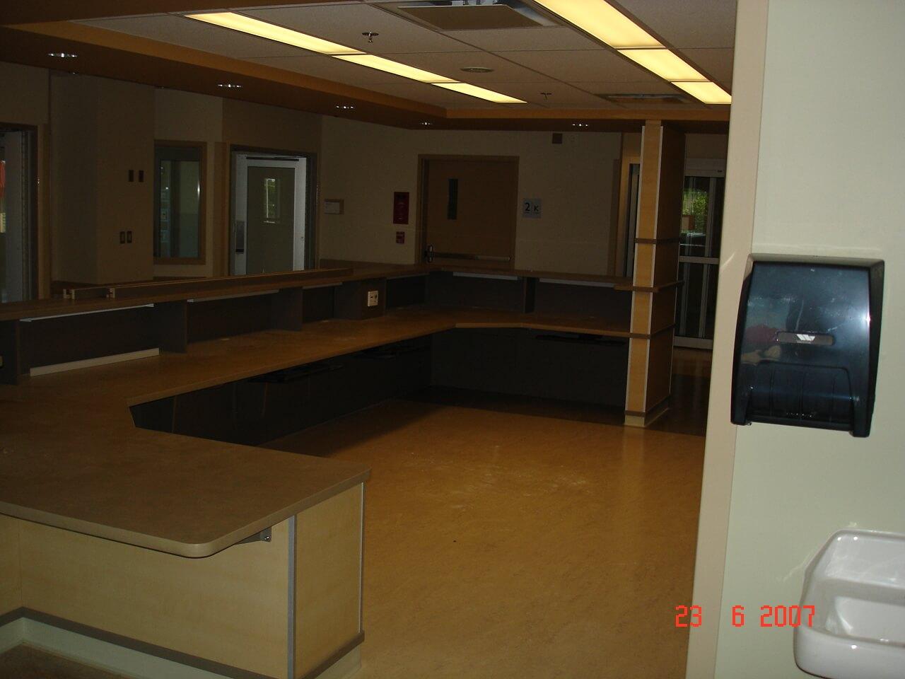William Osler Health System Brampton Architectural Millwork Amp Door Installation