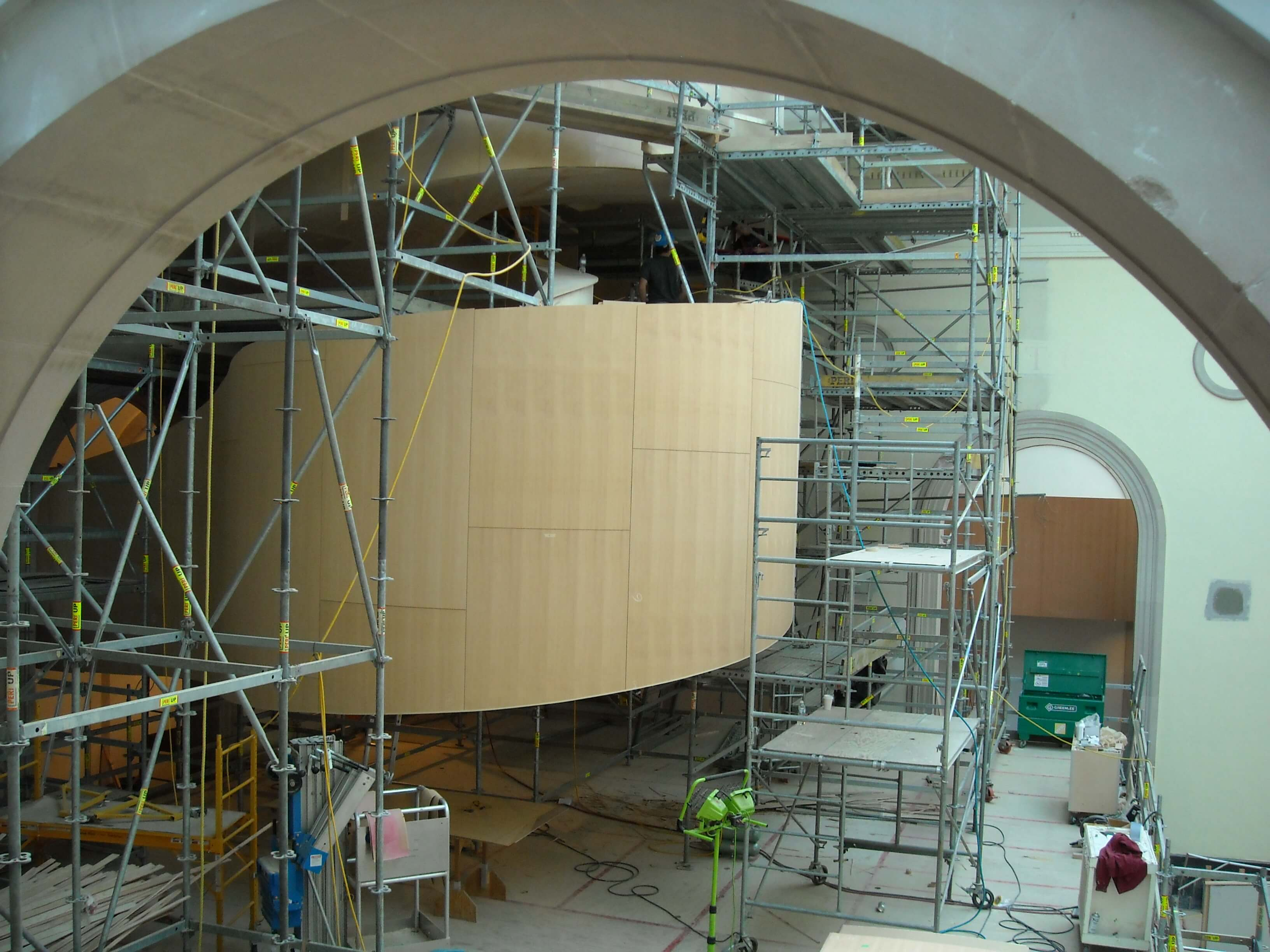 art gallery of ontario architectural millwork door installation