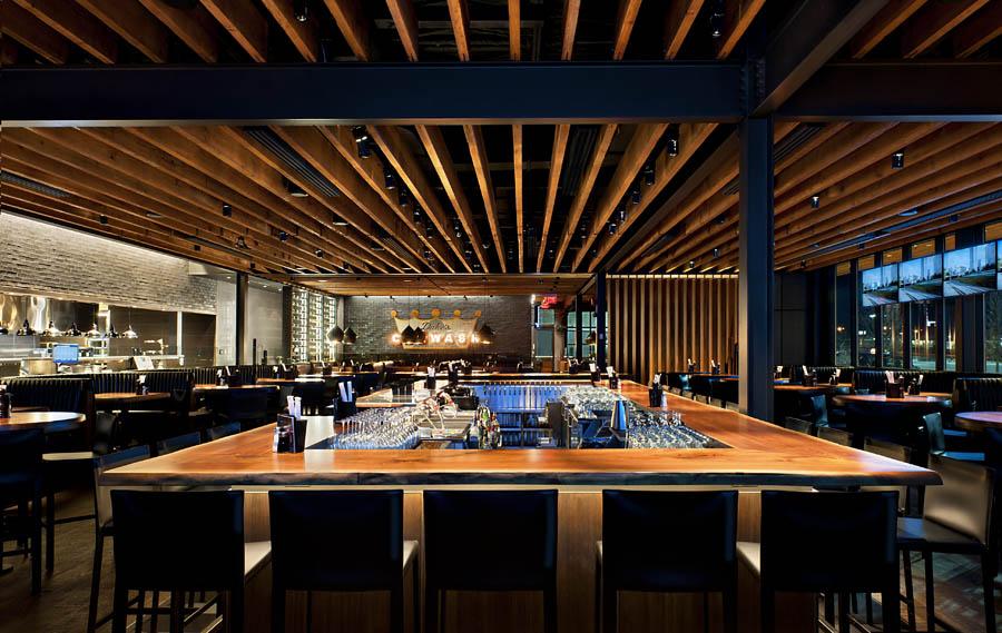 Joey s restaurant markville architectural millwork